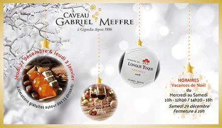 Animation au Caveau pendant les vacances de Noël