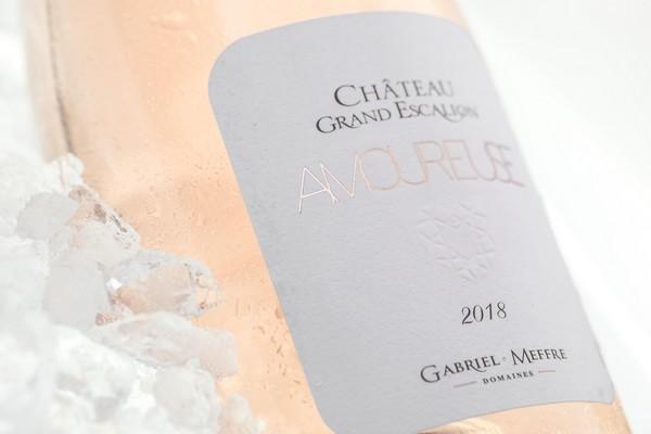 La cuvée amoureuse, Château du Grand Escalion, le vin rosé de gastronomie de la Maison Gabriel Meffre