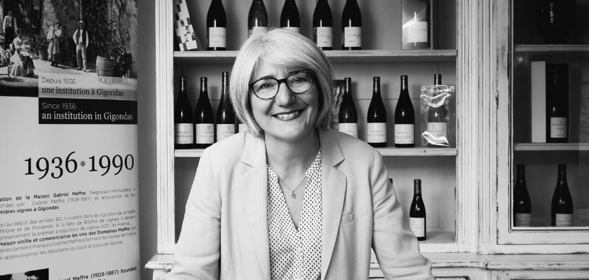 Portrait de Valérie Vincent, Responsable marketing et communication de la Maison Gabriel Meffre