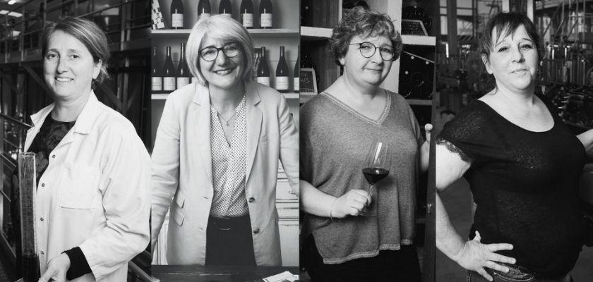 Les portraits de femmes de l'équipe de la Maison Gabriel Meffre