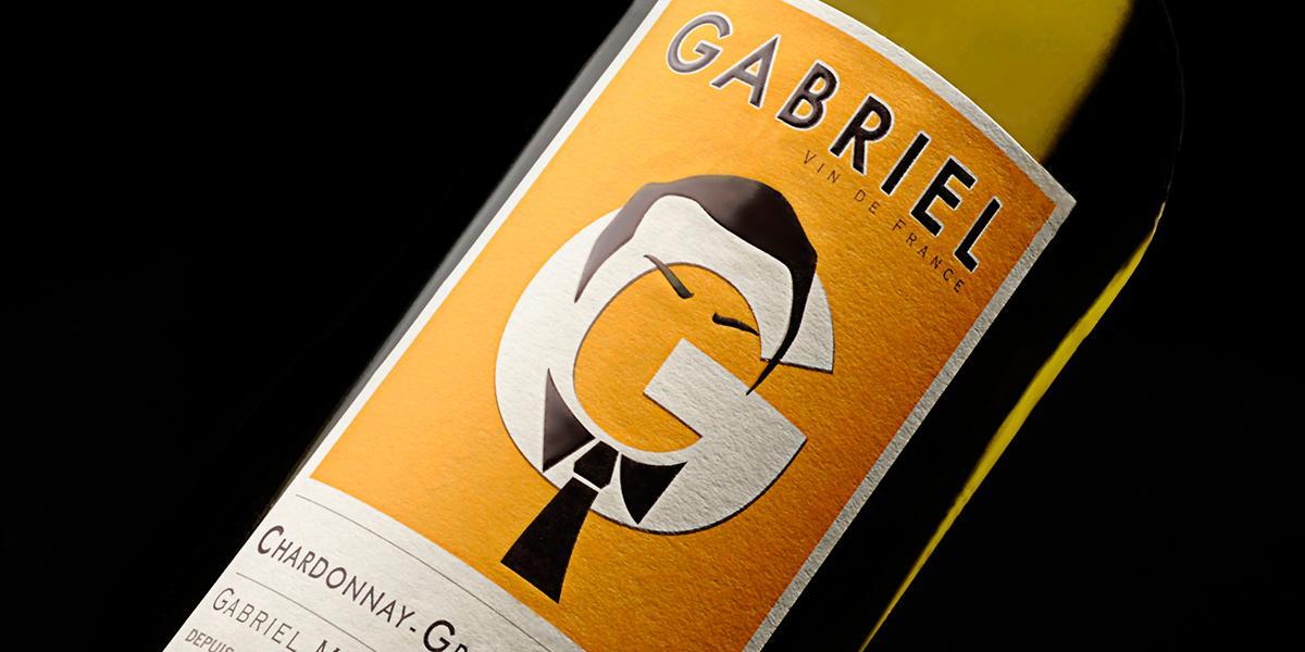 Étiquette des bouteilles de la Maison Gabriel Meffre