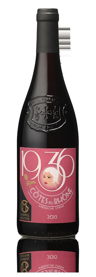 Bouteille 1936 Côtes du Rhône 2015