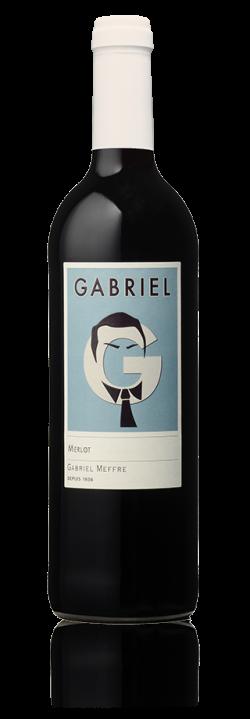 Bouteille Gamme Gabriel - Pays d'Oc - Merlot